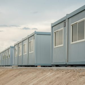 Mobile,Building,In,Industrial,Site,Or,Office,Container,In,Construction